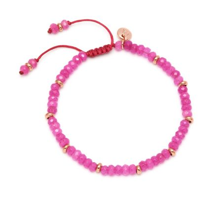 Lola Rose Northwood Bracelet Rose Pink Quartz