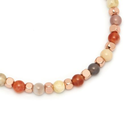 Lola Rose Portobello Bracelet Fire Agate mix