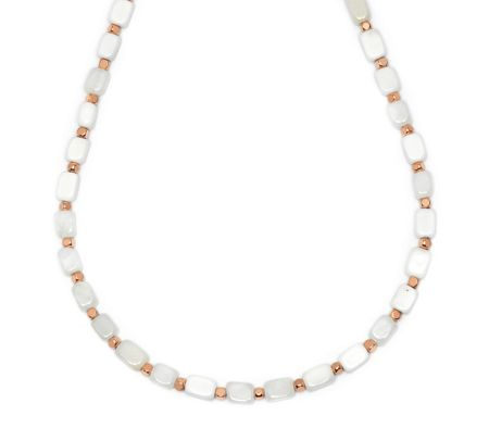 Lola Rose Roxane Necklace White Sea Shell