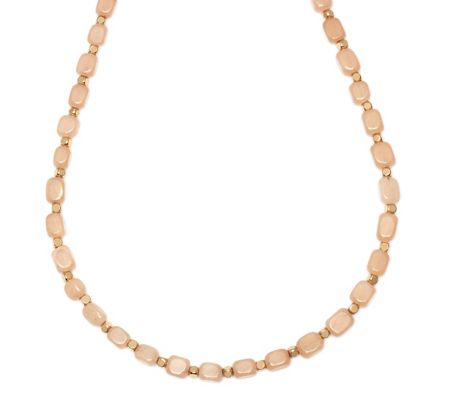Lola Rose Roxane Necklace Oyster Quartz