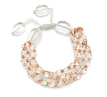 Lola Rose Clio bracelet rock crystal