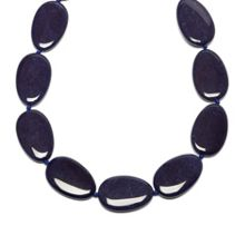 Lola Rose Bedelia necklace french navy quartz