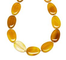 Lola Rose Bedelia necklace amber agate