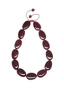 Lola Rose Bedelia necklace claret quartzite