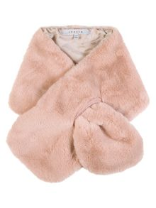 Chesca Faux Fur Tippet with Satin Lining