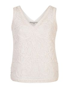 Chesca Cornelli Embroidered Lace Camisole