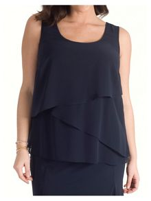 Chesca Triple Layer Chiffon Top