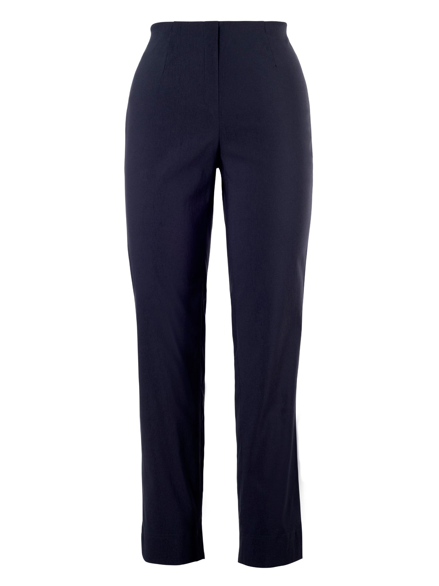 Chesca Pull On Stretch Slim Leg Trouser, Blue