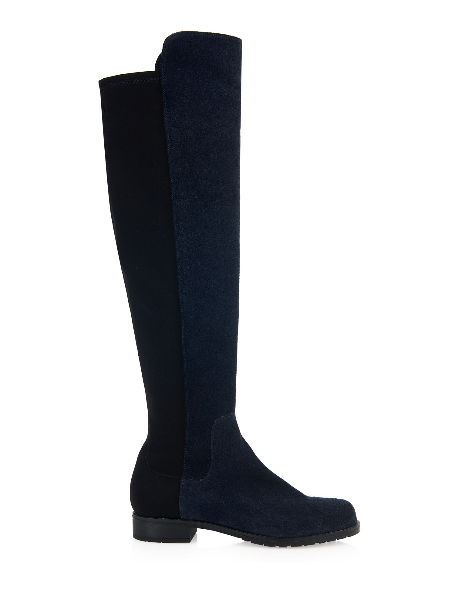 Cara Cara Eastwood over the knee boot, Navy