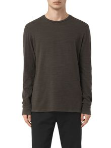 AllSaints Orsman long sleeve crew neck t-shirt