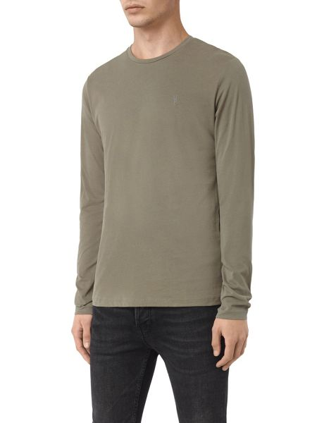 AllSaints Brace long sleeve tonic t-shirt