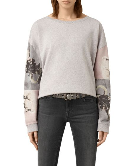 AllSaints Belle Lo Sweat