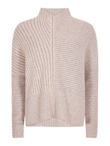 AllSaints Funnel neck jumper