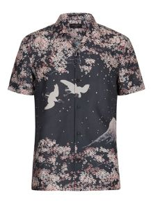 AllSaints Sakura short sleeve shirt