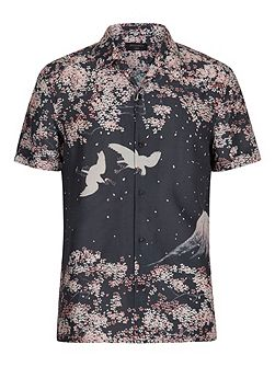 Sakura short sleeve shirt