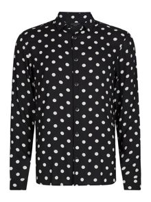 AllSaints Rolla long sleeve shirt