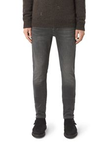 AllSaints Battle rex washed grey jeans