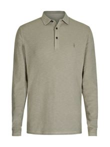 AllSaints Clash Long Sleeve Polo