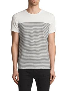 AllSaints Breton tonic short sleeve t-shirt