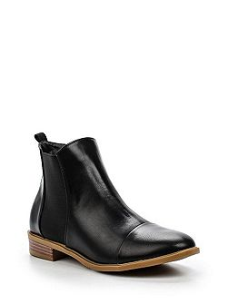 Arin elastic gusset ankle boots