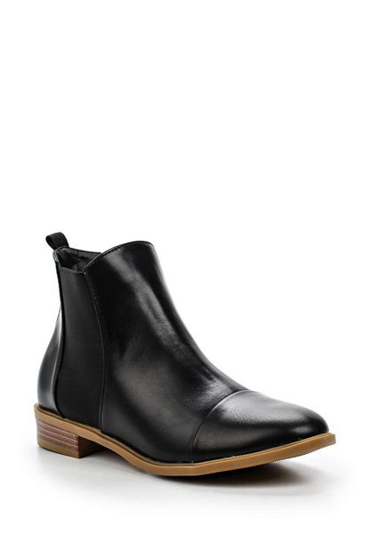 Lost Ink Arin elastic gusset ankle boots