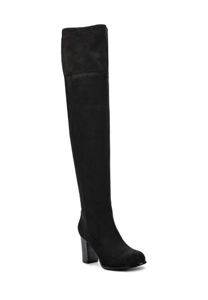 Lost Ink Gallop stretch over knee boots