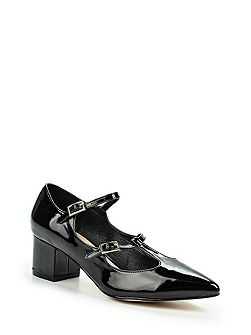 Dakota mary jane mid block heel shoes