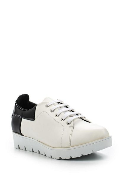 Lost Ink Toni colour block cleated sports shoes