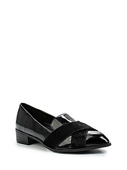 Joy cross strap loafers