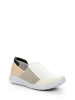 Ennis elasticated slip on sports shoes
