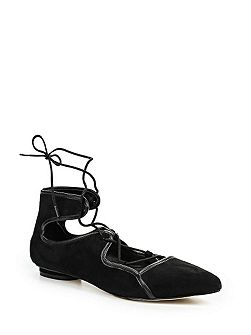 Jemima ankle strap ballerina shoes