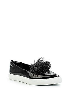 Tonic pom pom point plimsolls
