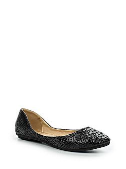 Bea textured ballerinas