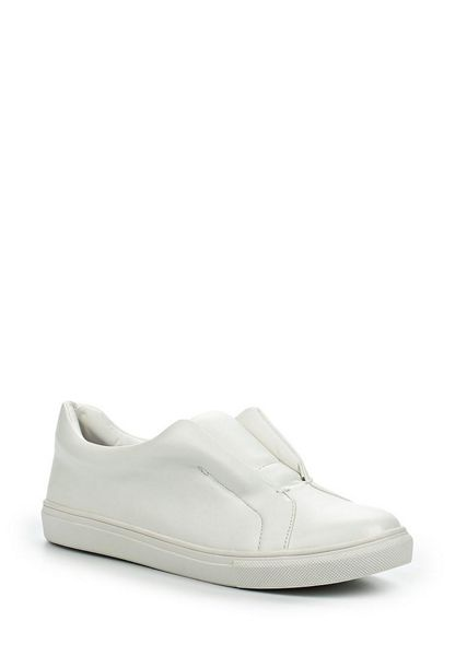 Lost Ink Tommy no-lace plimsolls