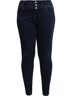 Curve Skinny Jean With Double Waistband