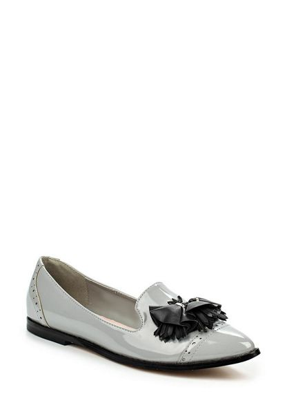 Lost Ink Jem contrast tassel loafers