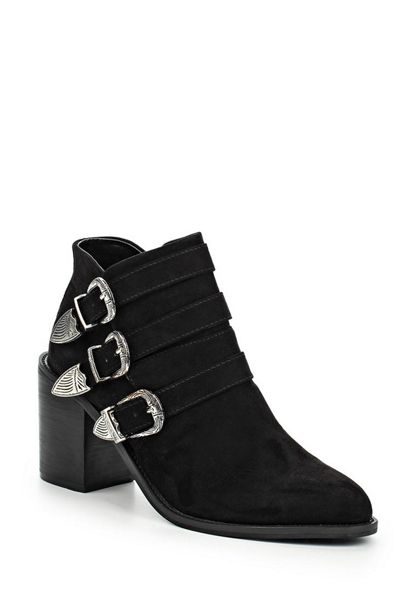 Lost Ink Ardell multibuckle western boots
