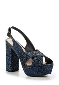 Lost Ink Darah platform heeled sandals