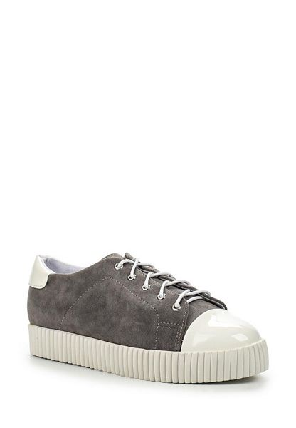 Lost Ink Trish toe cap creeper plimsolls
