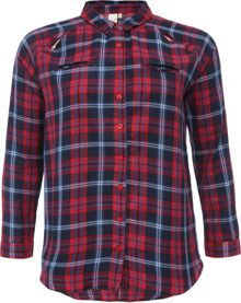 Lost Ink Curve Check Shirt