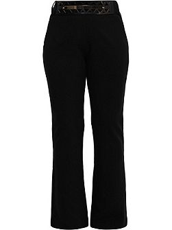 Curve Tailored Flare Trouser