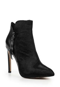 Lost Ink Ascot high stiletto pony hair boots