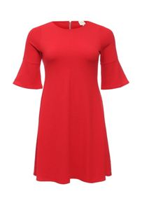 Just Joan Swing dress with frill sleeve