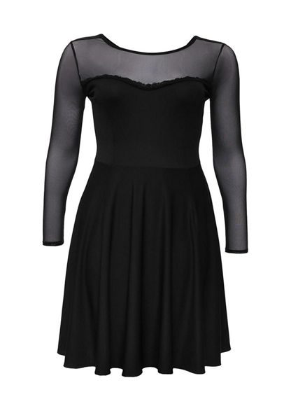 Just Joan Mesh Dress in a Skater Style