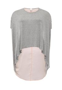 Just Joan Chiffon and Dip Back Top