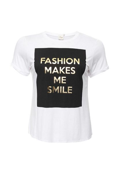 Just Joan Smile Print T Shirt