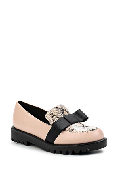 Lost Ink Becca cleat sole loafers