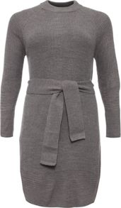 Lost Ink Curve Belted Slouch Jumper