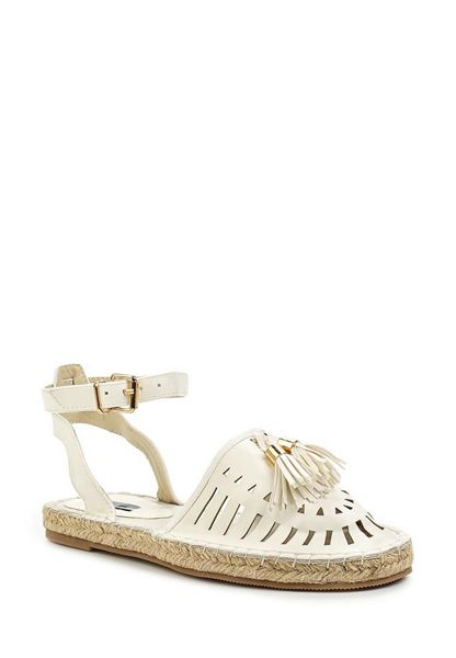 Lost Ink Miley ankle strap espadrilles