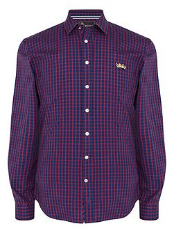 Fletcher Check Classic Fit Button Cuff